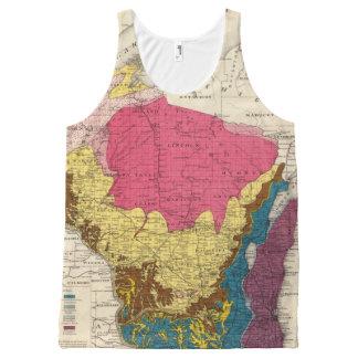 Mapa geológico de Wisconsin