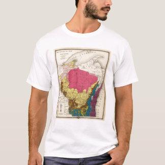 Mapa geológico de Wisconsin Playera