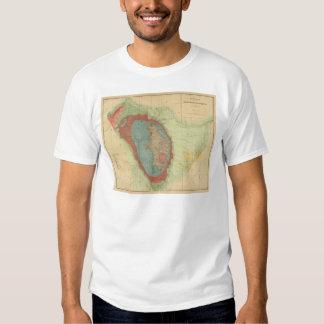 Mapa geológico del Black Hills de Dakota Poleras