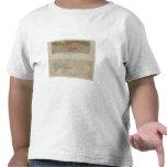 Mapa geológico del distrito de Knoxville Camiseta