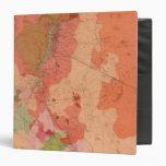Mapa geológico del distrito de Washoe