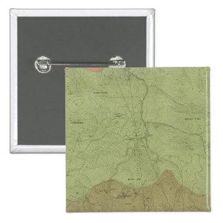 Mapa geológico del nuevo distrito de Idria Pin Cuadrada 5 Cm