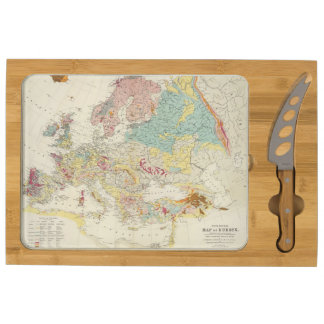 Mapa geológico Europa