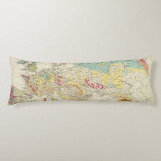 Mapa geológico Europa Almohada