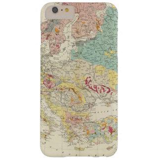 Mapa geológico Europa Funda De iPhone 6 Plus Barely There