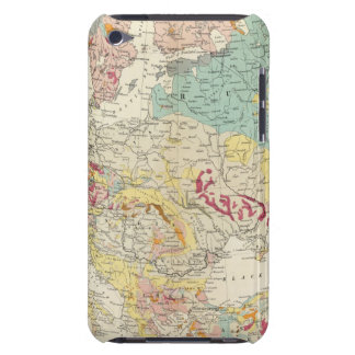 Mapa geológico Europa iPod Case-Mate Carcasa