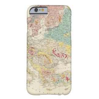 Mapa geológico Europa Funda De iPhone 6 Barely There