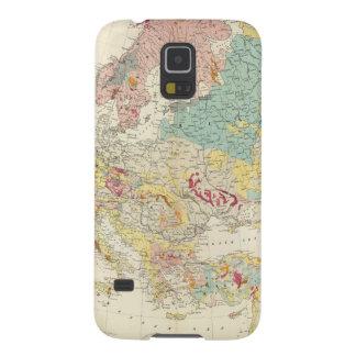 Mapa geológico Europa Funda Para Galaxy S5