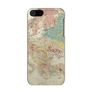 Mapa geológico Europa Funda Para iPhone 5 Incipio Feather Shine