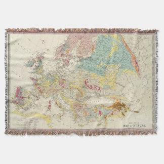 Mapa geológico Europa Manta