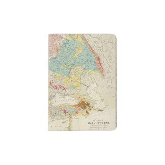 Mapa geológico Europa Porta Pasaporte