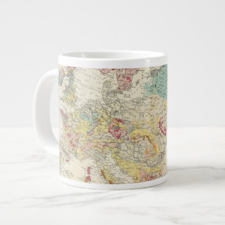 Mapa geológico Europa Taza Grande