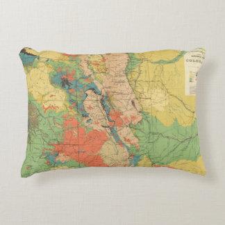 Mapa geológico general de Colorado Cojín