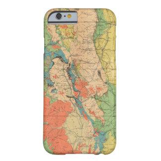 Mapa geológico general de Colorado Funda Barely There iPhone 6