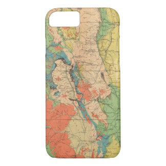 Mapa geológico general de Colorado Funda iPhone 7