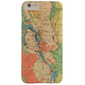 Mapa geológico general de Colorado Funda Para iPhone 6 Plus Barely There