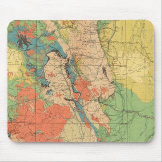 Mapa geológico general de Colorado Tapetes De Raton