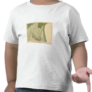 Mapa geológico que muestra el Kanab Camiseta