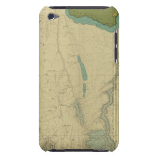 Mapa geológico que muestra el Kanab Carcasa Para iPod