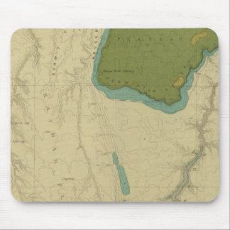 Mapa geológico que muestra el Kanab Tapetes De Ratón