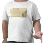 Mapa geológico que muestra la porción occidental camisetas