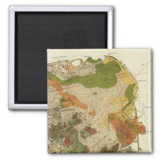 Mapa geológico San Francisco Imán Cuadrado