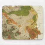 Mapa geológico San Francisco Mousepad