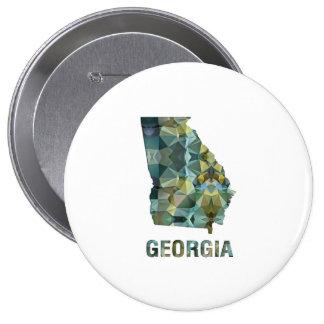 Mapa GEORGIA del estado del mosaico del polígono