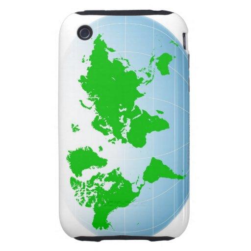 Mapa global iPhone 3 tough protector