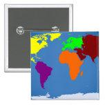Mapa global pin