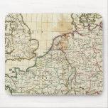 Mapa grabado de Europa Tapete De Raton