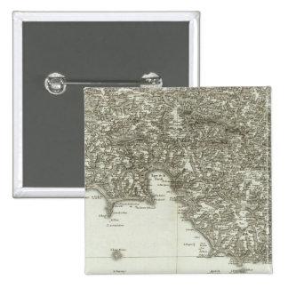Mapa grabado de Francia 2 Pins
