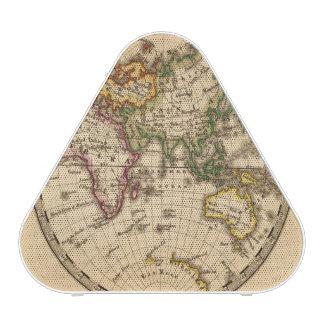 Mapa grabado del hemisferio del este altavoz
