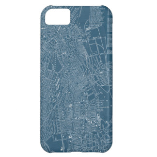 Mapa gráfico de Boston Funda Para iPhone 5C