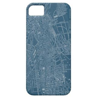 Mapa gráfico de Boston iPhone 5 Funda