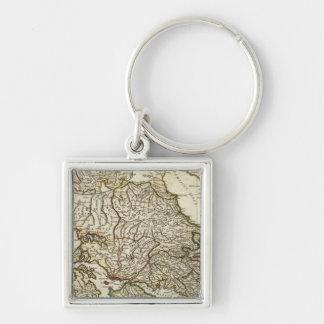 Mapa griego antiguo llaveros personalizados