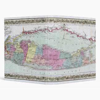 """Mapa histórico de los viajeros 1855-1857 de Long Carpeta 1"""""""