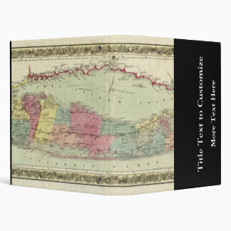 """Mapa histórico de los viajeros 1855-1857 de Long I Carpeta 1"""""""