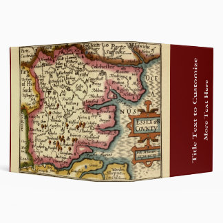 "Mapa histórico del condado de Essex, Inglaterra Carpeta 2"""