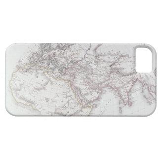 Mapa histórico del mundo sabido funda para iPhone 5 barely there