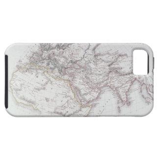 Mapa histórico del mundo sabido iPhone 5 carcasas