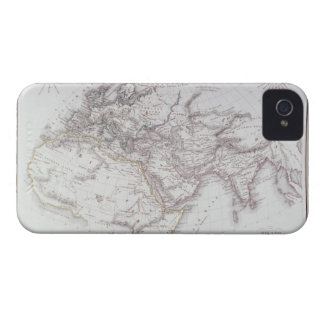Mapa histórico del mundo sabido iPhone 4 funda