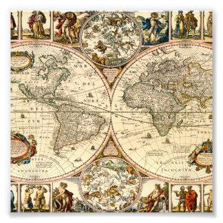 Mapa histórico detallado cojinete