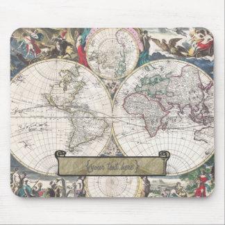Mapa histórico - Nova Totius Terrarum Orbis Tabula Tapete De Ratón