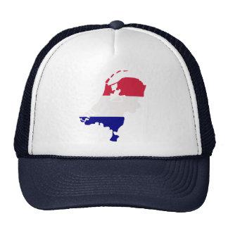Mapa holandés gorras