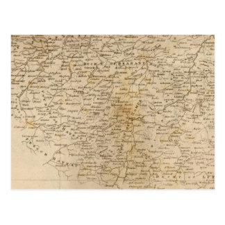 Mapa holandés por Arrowsmith Tarjeta Postal