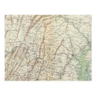 Mapa I de la GEN Tarjetas Postales