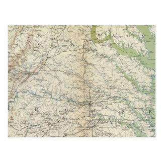 Mapa II de la GEN Postales