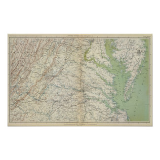 Mapa II de la GEN Póster