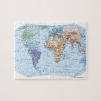Mapa ilustrado 4 puzzle